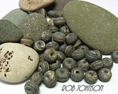 Fen Stones, Lampwork Spacer Beads, SRA, UK