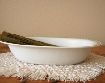 Vintage Haviland & Co. France Limoges Serving Bowl, Vintage Limoges France Vegetable Bowl from The Eclectic Interior