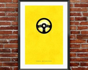 "Forza Motorsport inspired print 11x17"""
