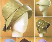 Misses' Hats Pattern Buttern 4626 NEW
