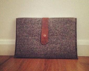 """Handmade Tweed 13"""" MacBook Pro Case"""