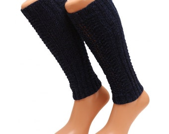 New leg warmers stockings 100% wool Women Girls Present