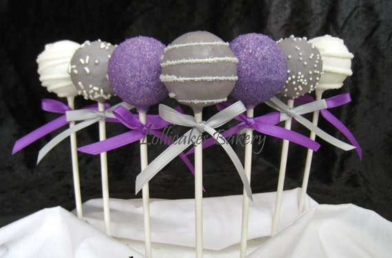 Cake Pops: Wedding Cake Pops Made to Order with High Quality Ingredients, 1 dozen cake pops