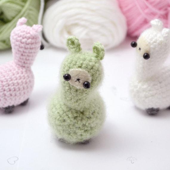 Crochet Llama Amigurumi Pattern : crochet llama pattern - cute amigurumi plush pattern from ...