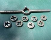 Die Thread Pipe Cutter, Very Vintage 1-inch Die Handle Pipe Thread Cutter..