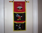 Classic Mickey and Donald 2 pocket Disney Cruise Fish Extender