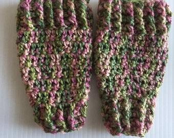 Crochet Baby Girl Leg Warmers