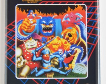 Ghosts and Goblins Video Game Fridge Magnet