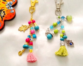 SALE------ GYPSY PURSE Charms - Bohemian charms- Ethnic charms- Gypsy  Charms