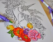 Unicorn coloring collection. Vol.1