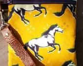 Mustang phone wallet