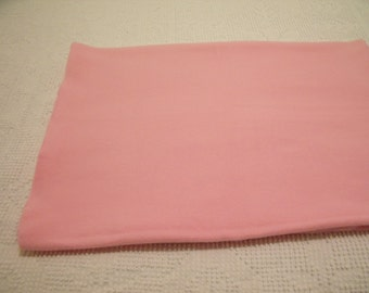 "Beautiful Soft Pink Fleece Fabric 21""L  x 58""W"