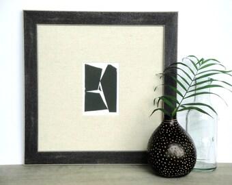 Simple Minimalist Modern Forms Print - Modern Art - Minimalist Print - Linocut Block Print - Original or Digital Print