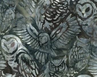 Kaufman - Owl Batik by Lunn Studios
