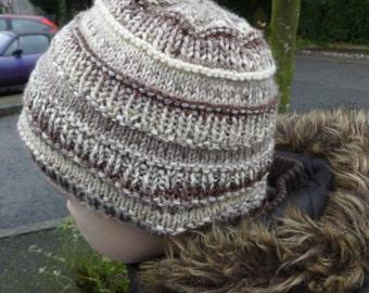 Instant Download Knitting PDF Pattern - Mix & Match Hat
