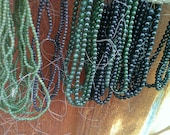 Rsrvd for Osunwole -Lot of Jade & black beads - Please do not purchase