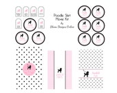 Pink Poodle Party MOVIE KIT : By Bloom Designs