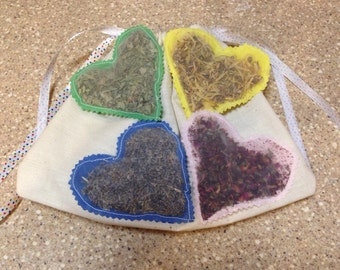Herb Sachets (set of four)