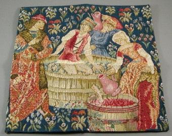 Estate Gobelin Handmade Tapestry / Needlepoint / in Original Gobelins Art Packaging