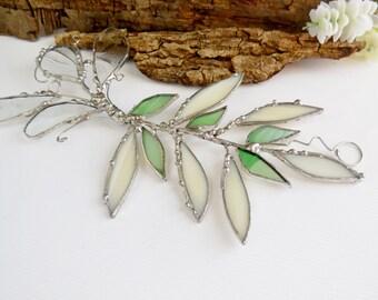 Wish Branch, Stained Glass Suncatcher