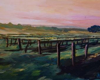 Wonderful Vineyard in Napa Valley - Limited Edition Fine Art Print