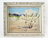 White Tree  Landscape Painting