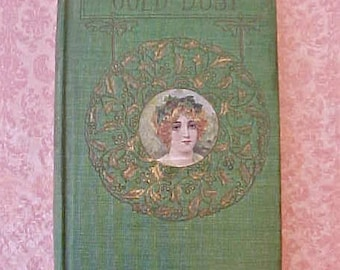 """Beautiful Antique Book: """"Gold Dust"""" a Book of Devotional Thoughts"""