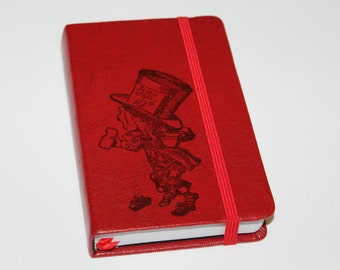 Alice In Wonderland Mad Hatter Journal Sketch Book