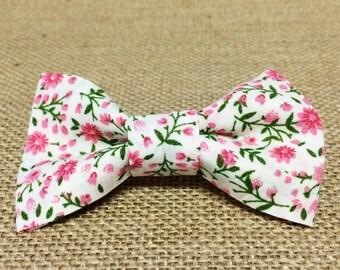 Spring Floral Baby Boy Bow Tie
