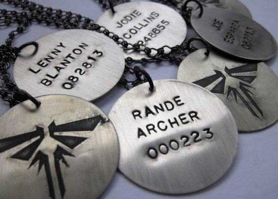 The last of us inspired custom namenumber firefly pendant like this item aloadofball Image collections