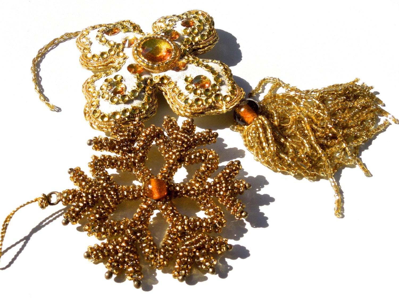 Vintage Beaded Ornaments 77