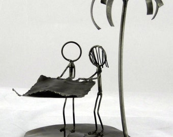 Picnic on the Beach Figurine