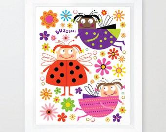 Ladybug and Friends