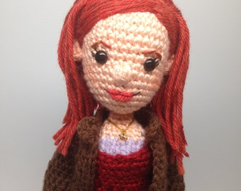 Amy Pond Doctor Who Amigurumi doll Crochet Pattern