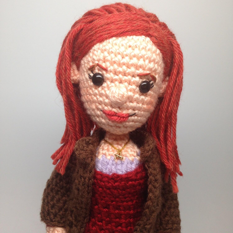 Amigurumi Yarn Michaels : Amy Pond Doctor Who Amigurumi doll Crochet Pattern