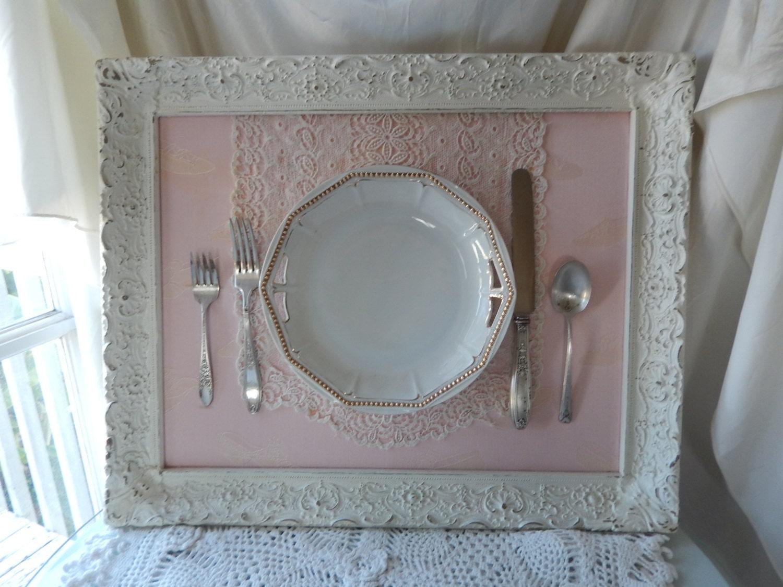 collage art dining room art framed plate framed