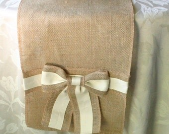 Burlap table runner, Wedding table runners, Country chic