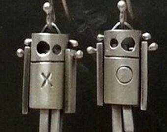 ROBot Earrings:XO