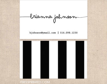 DELUXE business cards - thick, color both sides - FREE UPS ground shipping