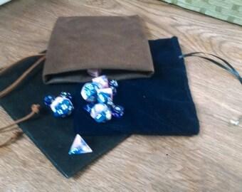 D&D dice bag (The Adventurer)