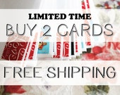 Buy 2 Cards / FREE SHIPPING