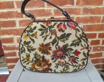 Vintage Tapestry Handbag/Purse