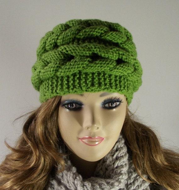 Knitting Hat Patterns For Women : Items similar to knitting pattern hat aralenna