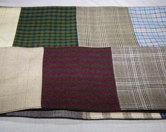 Patchwork Wool scarf