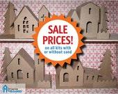 Dimestore Village - Glitter House Patterns