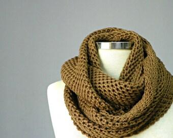 SALE, Knit scarf, infinity scarf, Cowl, hood loop, man women unisex circle scarf, chunky cowl, cowl scarf,  scarves