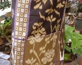 unisex sarong 2 tone brown MPU1