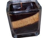 Winter snack cube candle