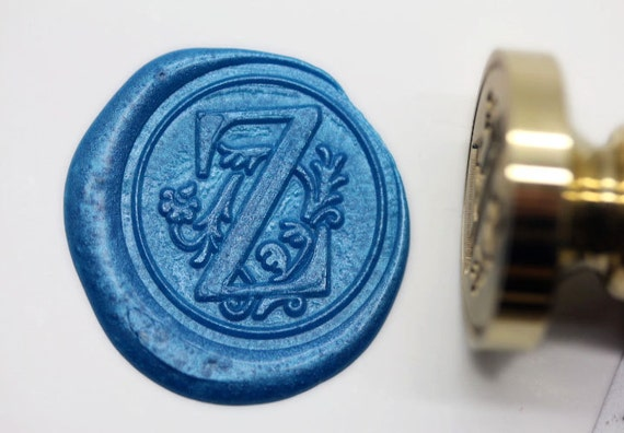 S1168 alphabet letter z wax seal stamp sealing for Letter seal stamp