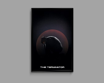 The Terminator 11 x 17 Inch Minimal Movie Poster